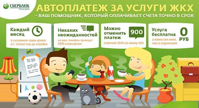 Оплата коммунальных платежей в Сбербанк онлайн